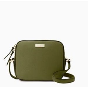 Kate Spade Newbury Lane crossbody. Army Green